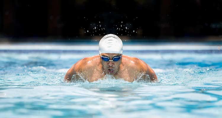 ejemplo de deportes individuales natación