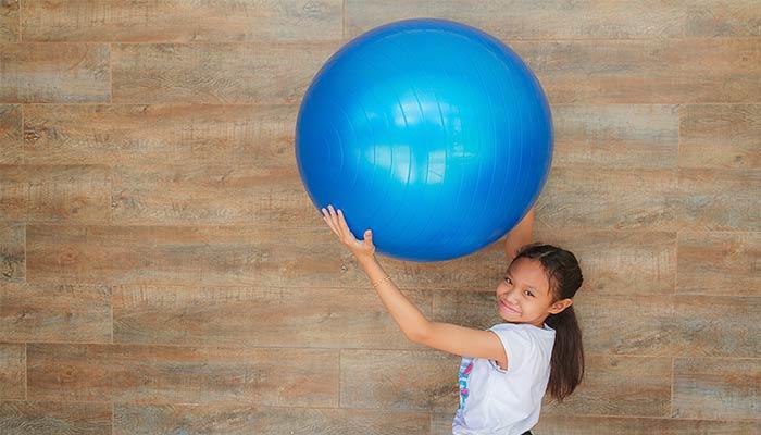 juegos de flexibilidad con pelotas