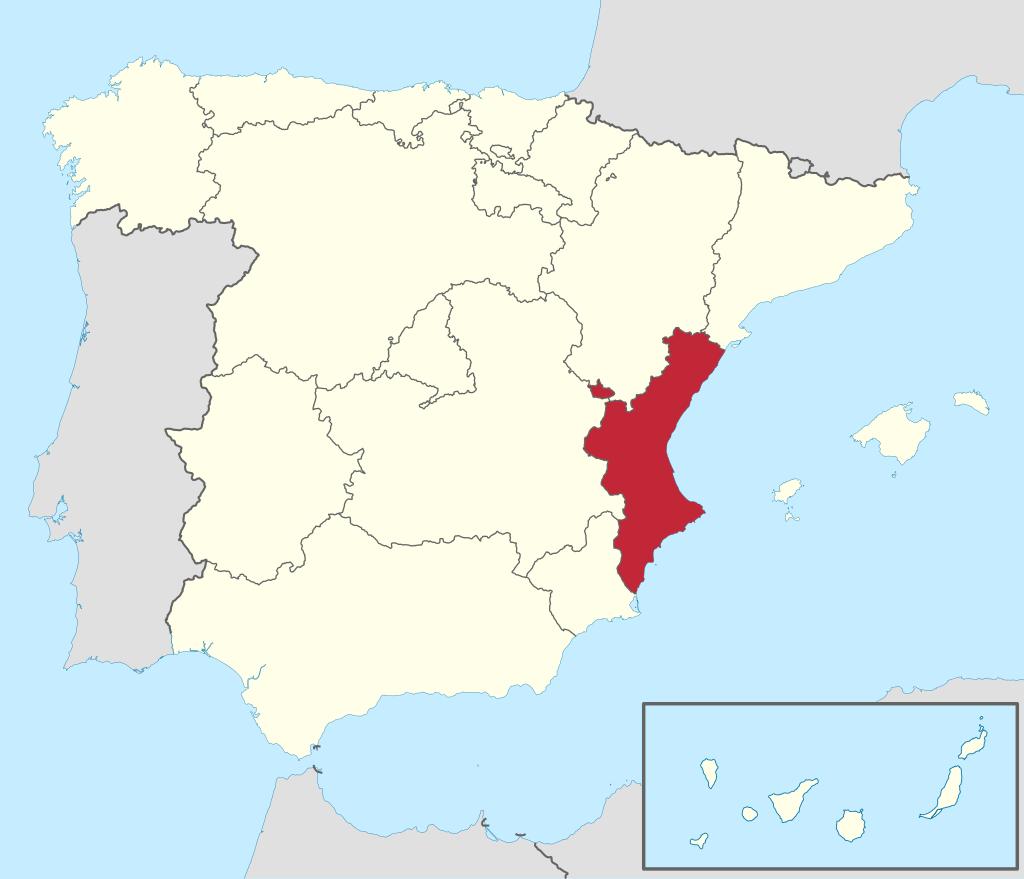 origen Comunidad Valenciana