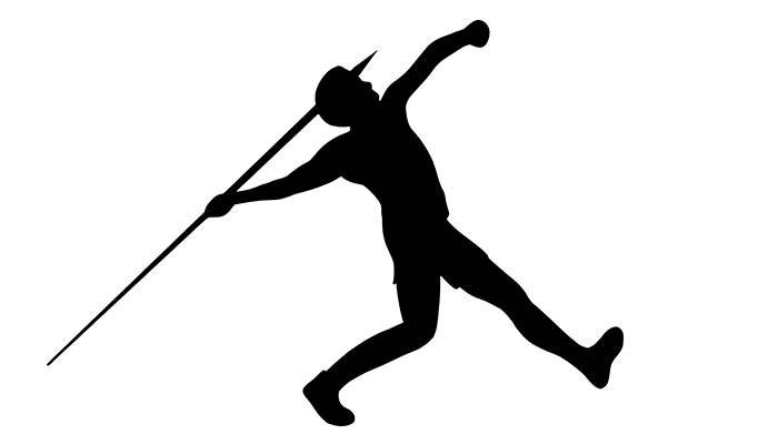 técnica de lanzamiento de jabalina