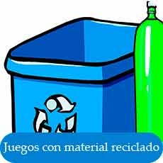 actividades con material reciclado