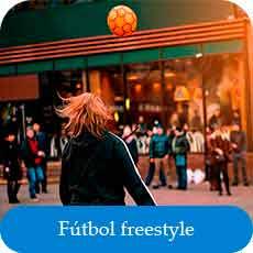 como se juega al fútbol freestyle
